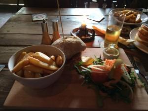 Local pub lunch